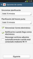 Samsung Galaxy S4 Mini - E-mail - Configurar Yahoo! - Paso 8