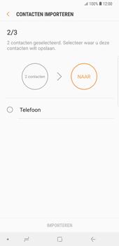 Samsung galaxy-note-9-sm-n960f - Contacten en data - Contacten kopiëren van SIM naar toestel - Stap 12