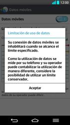 LG G2 - Internet - Ver uso de datos - Paso 9