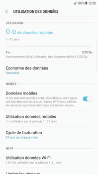 Samsung Samsung G928 Galaxy S6 Edge + (Android N) - Internet - Désactiver les données mobiles - Étape 6