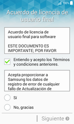 Samsung Galaxy Core Prime - Primeros pasos - Activar el equipo - Paso 7