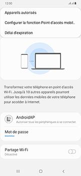 Samsung Galaxy A50 - Internet - comment configurer un point d'accès mobile - Étape 8