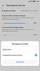 Huawei P10 Lite - Internet - Ver uso de datos - Paso 10