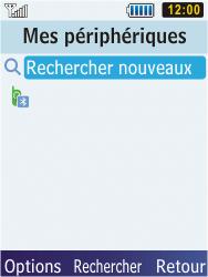 Samsung S5610 Primo - Bluetooth - connexion Bluetooth - Étape 11