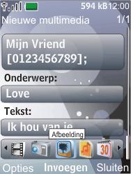 Nokia 7210 supernova - MMS - Afbeeldingen verzenden - Stap 12