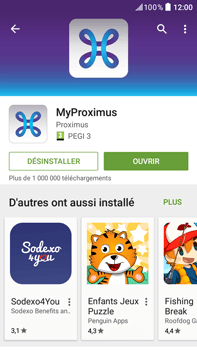 HTC Desire 825 - Applications - MyProximus - Étape 11