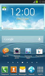 Samsung Galaxy S3 Mini - Applications - Supprimer une application - Étape 1