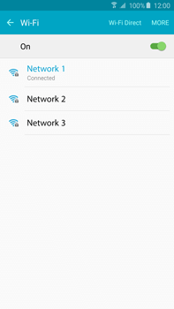 Samsung N920 Galaxy Note 5 - Wi-Fi - Connect to Wi-Fi network - Step 8