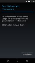 HTC Desire 620 - Applicaties - Account aanmaken - Stap 9