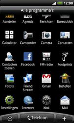 HTC A8181 Desire - Internet - Hoe te internetten - Stap 2
