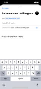 Apple iPhone XR - iOS 13 - E-mail - Bericht met attachment versturen - Stap 7