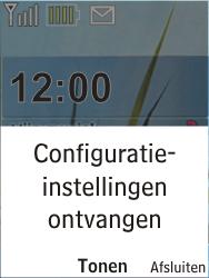 Nokia X2-00 - Internet - Automatisch instellen - Stap 3