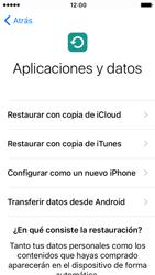 Apple iPhone 5s iOS 10 - Primeros pasos - Activar el equipo - Paso 14