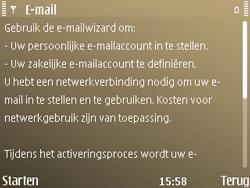 Nokia E72 - E-mail - Handmatig instellen - Stap 6
