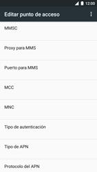 BQ Aquaris U - Mensajería - Configurar el equipo para mensajes multimedia - Paso 12