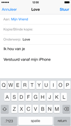 Apple iPhone 5c - E-mail - e-mail versturen - Stap 7
