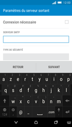HTC One M8s - E-mail - Configuration manuelle - Étape 12