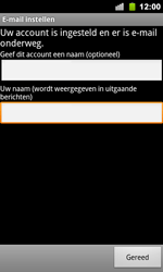 Google Nexus S - E-mail - handmatig instellen - Stap 11
