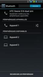 HTC Desire 516 - Bluetooth - Jumeler avec un appareil - Étape 8