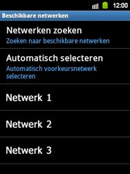 Samsung S5360 Galaxy Y - Netwerk - gebruik in het buitenland - Stap 12