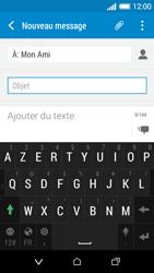 HTC Desire 510 - Contact, Appels, SMS/MMS - Envoyer un MMS - Étape 11
