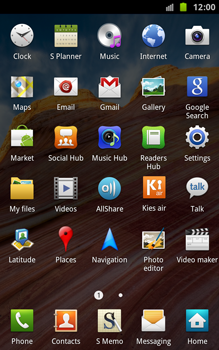 Samsung N7000 Galaxy Note - Internet - Enable or disable - Step 3