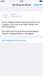 Apple iPhone 6 iOS 9 - WhatsApp - Herstel WhatsApp chats - Stap 11