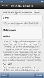 Apple iPhone 5 - Applications - Créer un compte - Étape 8