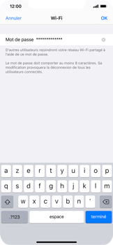 Apple iPhone XS Max - iOS 13 - Internet - comment configurer un point d'accès mobile - Étape 5