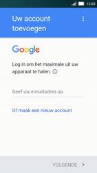 Huawei Y5 - Applicaties - Account aanmaken - Stap 3