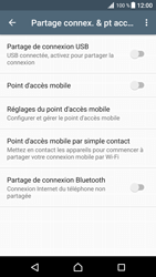 Sony Xperia XZ Premium - Internet et connexion - Utiliser le mode modem par USB - Étape 7