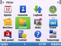 Nokia E5-00 - Internet - Hoe te internetten - Stap 2