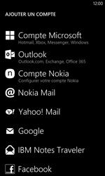 Nokia Lumia 1020 - E-mail - Configurer l