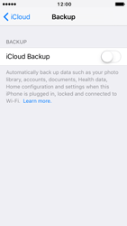 Apple iPhone 5c iOS 10 - Device maintenance - Create a backup of your data - Step 9