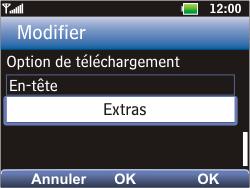 LG C360 Golf - E-mail - Configuration manuelle - Étape 16