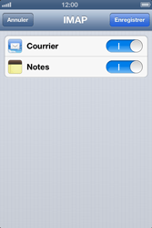 Apple iPhone 4 S - E-mail - Configuration manuelle - Étape 13