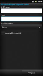 Sony LT26i Xperia S - E-mail - Handmatig instellen - Stap 14