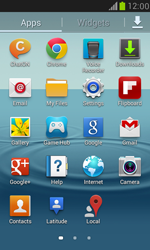 Samsung I8190 Galaxy S III Mini - E-mail - Manual configuration IMAP without SMTP verification - Step 4