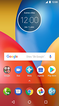 Motorola Moto E4 Plus - Applications - Personnaliser l