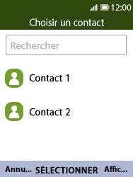 Nokia 8110 Banana - E-mail - Envoi d