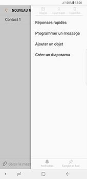 Samsung Galaxy Note 8 - Contact, Appels, SMS/MMS - Envoyer un MMS - Étape 9