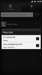 Sony Xpéria S - Contact, Appels, SMS/MMS - Envoyer un SMS - Étape 7
