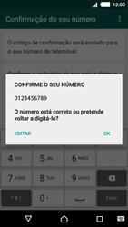 Sony Xperia M4 Aqua - Aplicações - Como configurar o WhatsApp -  7