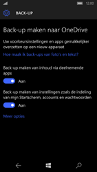 Microsoft Lumia 650 - Device maintenance - Back up - Stap 26