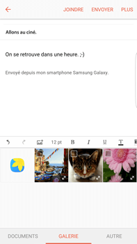 Samsung Samsung G928 Galaxy S6 Edge + (Android M) - E-mail - Envoi d