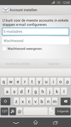 Sony Xperia E4g (E2003) - E-mail - Account instellen (POP3 zonder SMTP-verificatie) - Stap 5