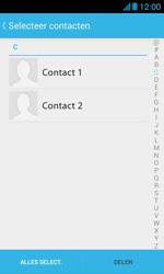 Huawei Ascend Y300 - Contacten en data - Contacten overzetten via Bluetooth - Stap 5