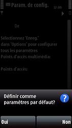 Nokia 5800 Xpress Music - Paramètres - Reçus par SMS - Étape 10