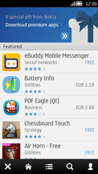 Nokia 808 PureView - Applications - Downloading applications - Step 4