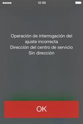 Apple iPhone 4S iOS 7 - Mensajería - Configurar el equipo para mensajes de texto - Paso 6